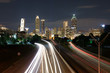 Atlanta downtown long exposure on Jackson Memorial Bridge