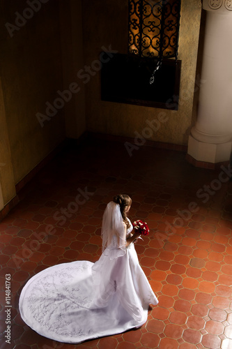 Poster Bride Waiting For Her Groom