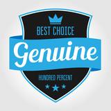 Badge/Label Genuine