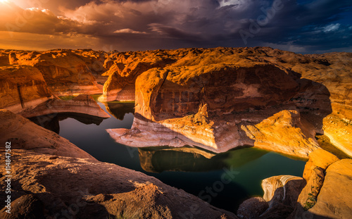 obraz lub plakat Reflection Canyon Lake Powell Utah