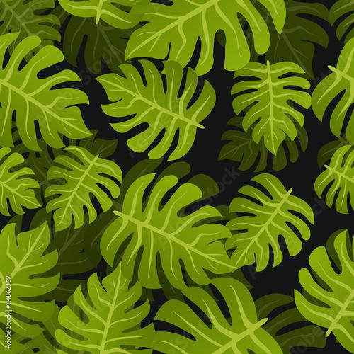 bezszwowy-zwrotnik-leafs-tlo-kwiatowa-letnia-natura