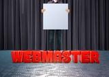 Webmaster, 3D Typography