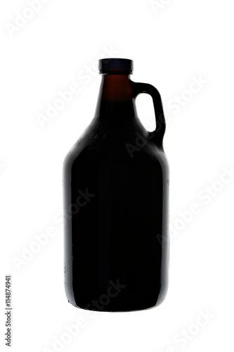Poster Homebrew Beer in Growler