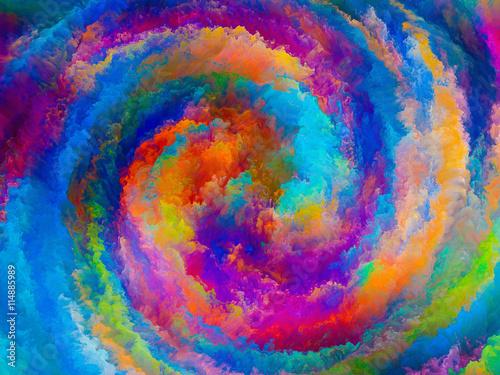 Obraz Color Swirl