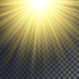 Sun rays effect - 114899779