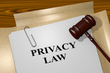 Privacy Law legal concept