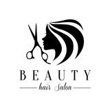 Beauty hair salon logo,salon logo