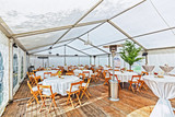 Tables and Chairs in the Big Tent - 114923541