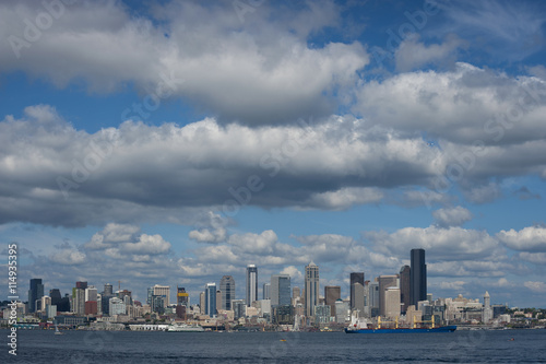 Poster Seattle Skyline