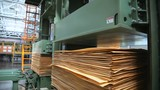 pressing plywood sheets