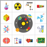 Physics Icon Set