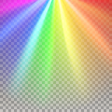 Fototapety Rainbow rays element