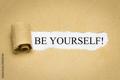 Poster Be Yourself!