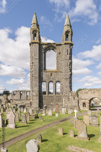 obraz PCV St Andrews cathedral, Fife, Scotland