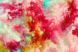 Fototapety Abstract background. Bright paint texture
