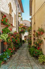 Fototapeta niesamowite średniowieczne miasto