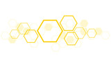 Fototapety the shape of hexagon concept design abstract technology background vector EPS10