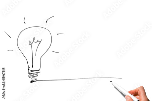 what does the light bulb symbolize