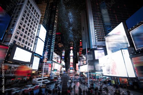 Fototapeta Times Square Manhattan New York