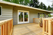 Countryside house with wooden walkout deck - 115074146