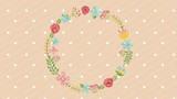 floral decoration design , Video Animation HD1080