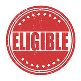 Eligible sign or stamp