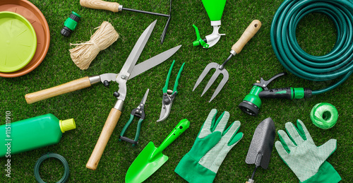 Foto Murales Gardening tools