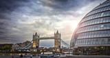 Tower Bridge and City Hall, London - 115142911