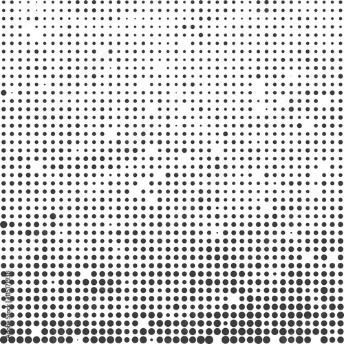 Fotobehang Pop Art Abstract modern futuristic halftone background. Vector illustration.