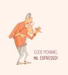 Постер, плакат: Mister Espresso Coffee