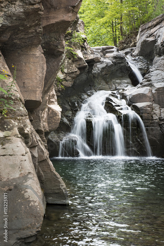 Waterfall at Fawn's Leap in the Catskill Mountains