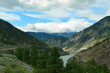 Thompson River Valley and Trans-Canada Highway, British Columbia