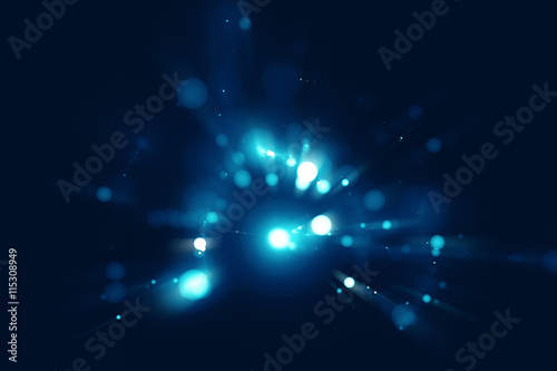 Staande foto Abstract wave Abstract blurry bokeh background