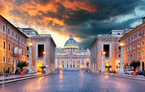 Foto op Aluminium Scandinavië Vatican, Rome - Conciliazione street