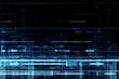Abstract futuristic matrix like pattern background
