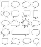 Speech Bubble Icons - 115336792