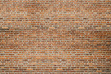 Fototapety Red vintage old brick wall texture background