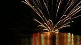 夏の湖面に映りこむ花火をハイスピード撮影_2