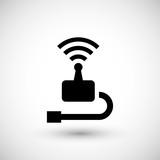 Wireless transmitter icon