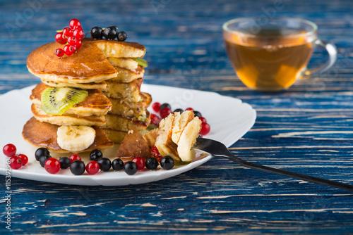 Poster American pancakes