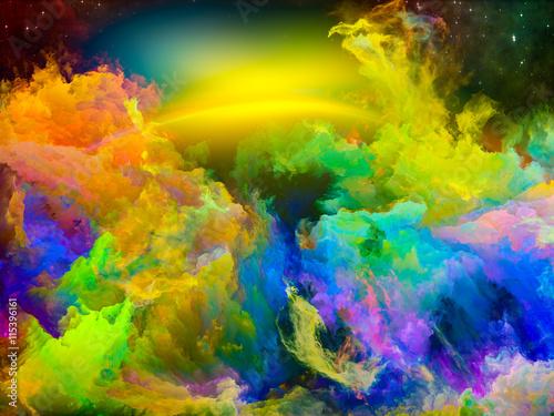 Zdjęcia na płótnie, fototapety na wymiar, obrazy na ścianę : Dance of Space Nebula