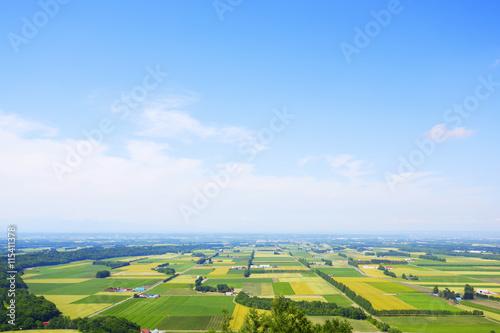 北海道 十勝の風景 Tokachi Hokkaido Japan