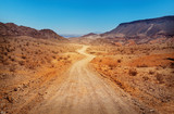 Droga na pustyni. Southern Nevada, USA