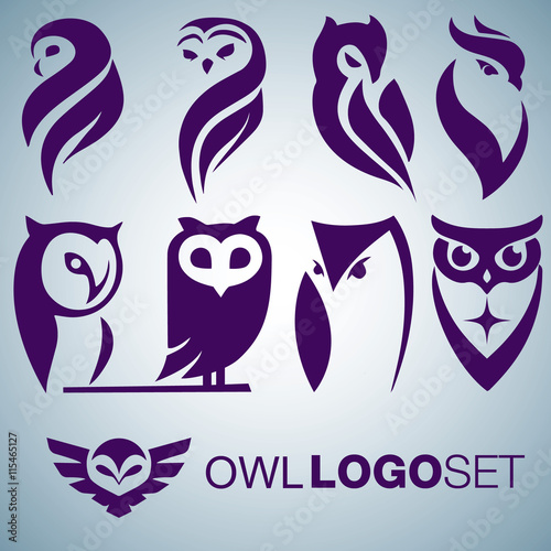 OWL LOGO SET