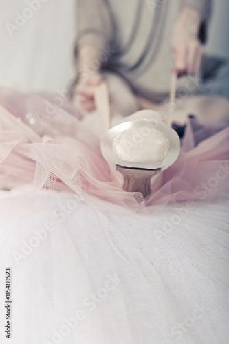 fototapeta na ścianę Ballerina dress pointes