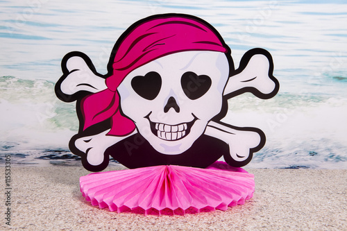 Pink Pirate Poster