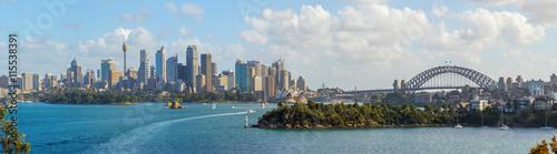 Canvas Sydney Sydney skyline panorama