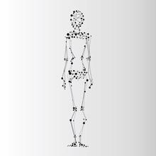 Ikona abstrakcyjne ludzki