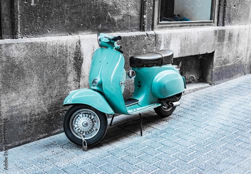 Fotobehang Scooter Roller Vintage Retro