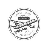 Good Flight Club Emblem Design